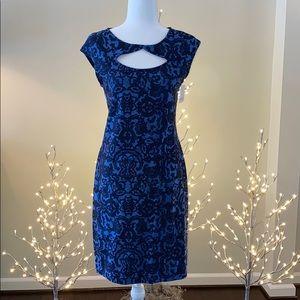 ARIANNE - NWT - SZ.S - Royal Blue Jersey Dress